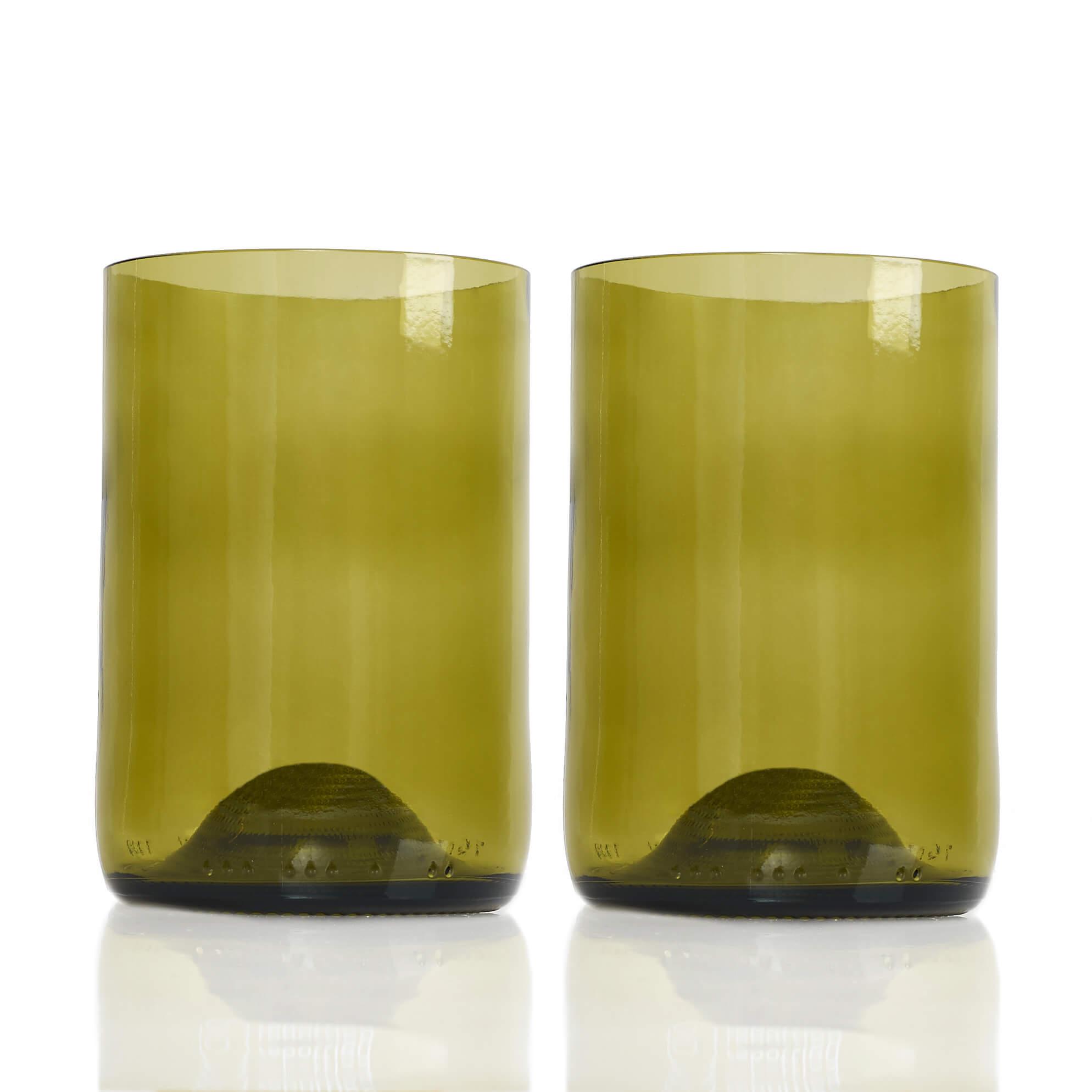 Rebottled Drinkglas 2-Pack Amber