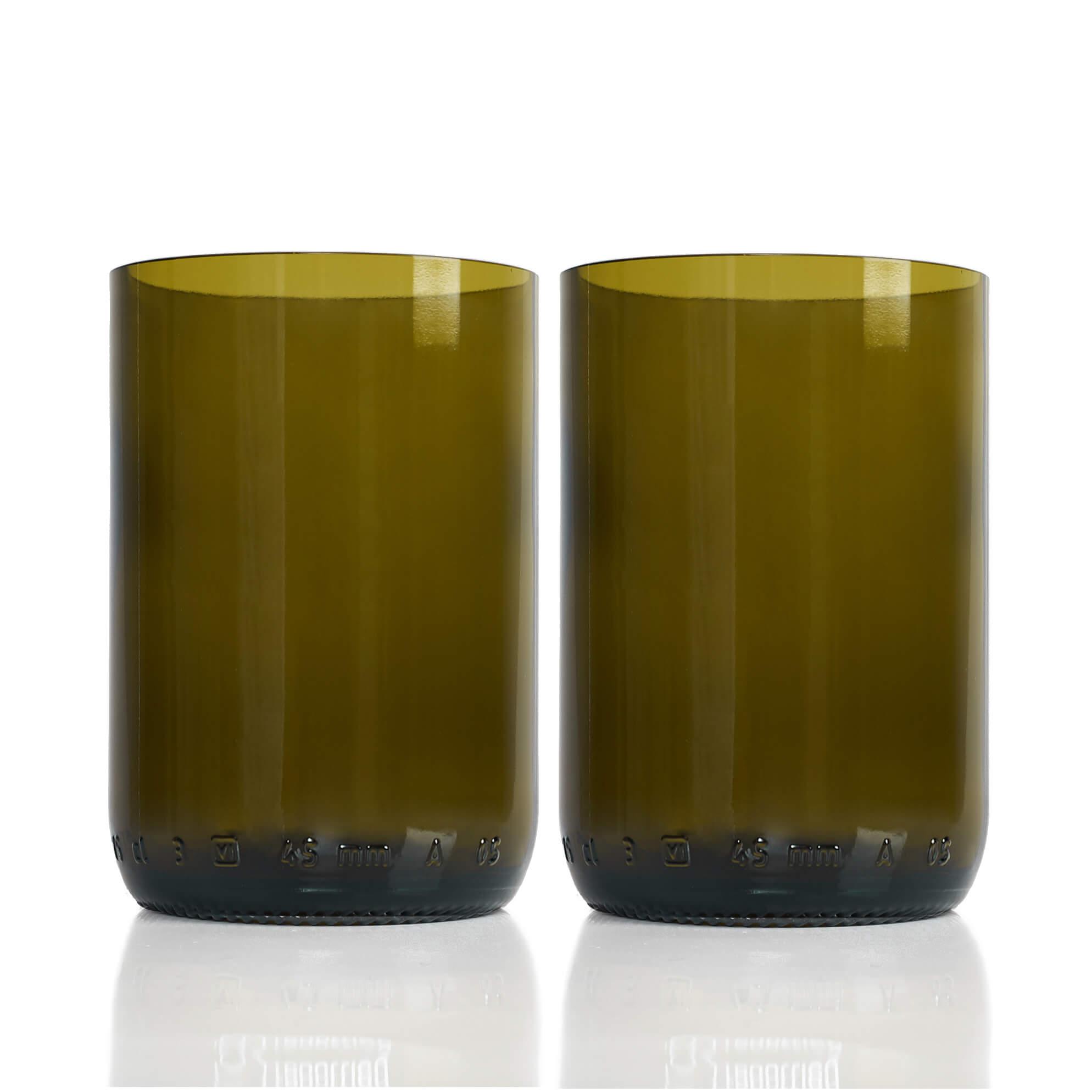 Rebottled Drinkglas 2-Pack Brown