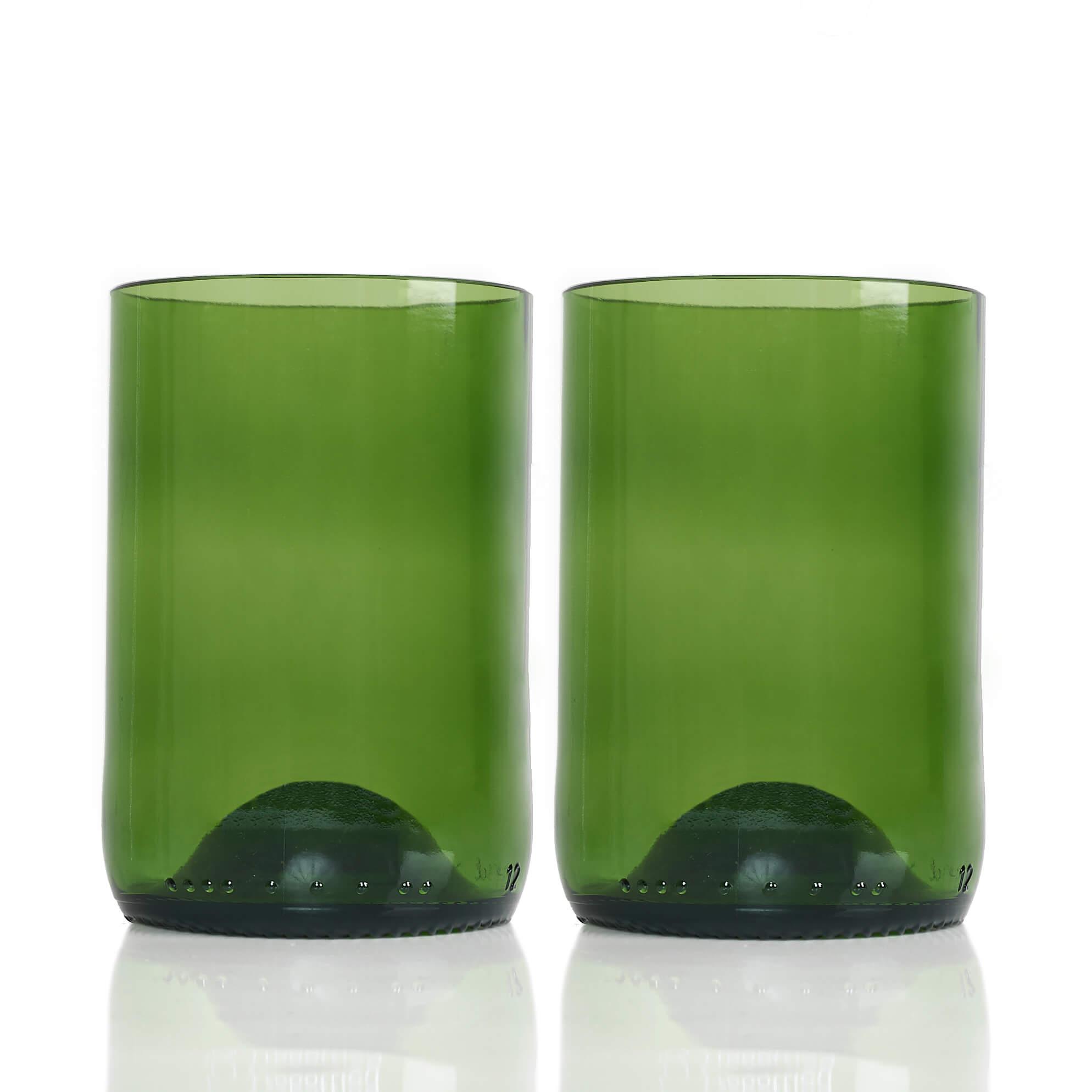 Rebottled Drinkglas 2-Pack Green