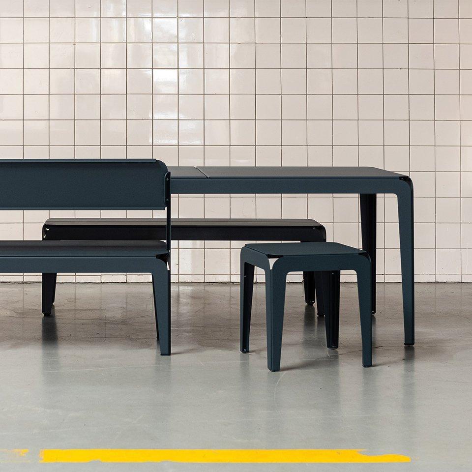 Weltevree Bended-bench-with-bakcgrest-grey-blue-back