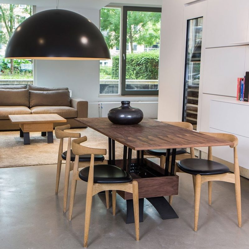 TWO-O Sybold in hoogte verstelbare tafel