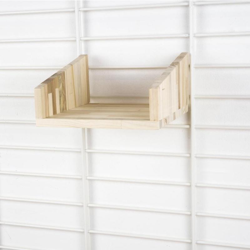 Pallet houten plank dubbel voor Fency wandrek Tolhuijs Design