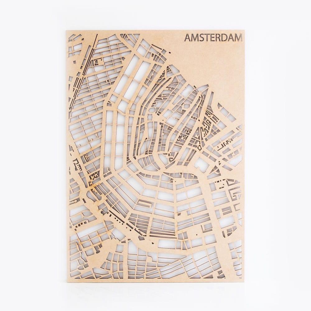 Stadskaart MDF Maatwerk