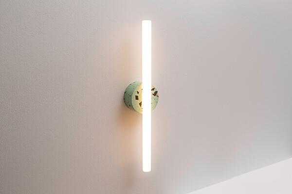 Groene wandlamp design gerecycled