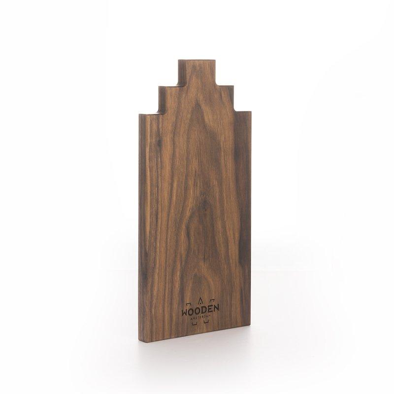 Wooden Amsterdam Serveerplank Walnoot