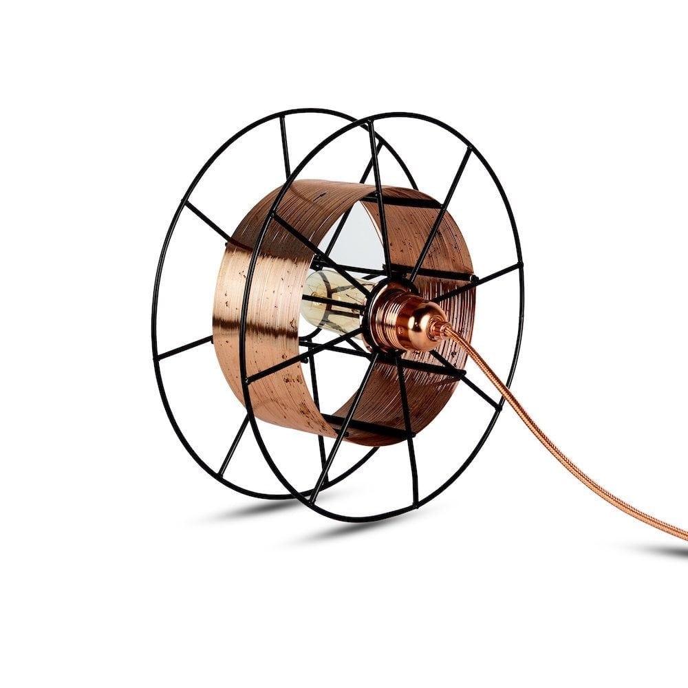Tolhuijs Vloerlamp Spool Deluxe Koper