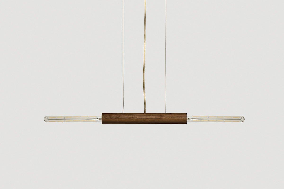 TWO-O design hanglamp van duurzaam hout bij Studio Perspective