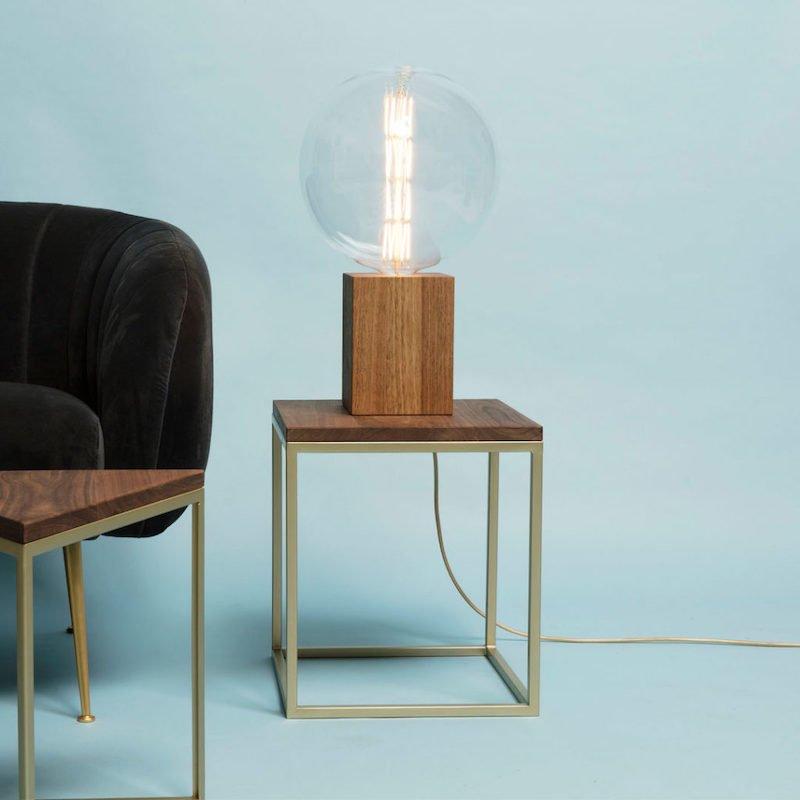 TWO-O Duke Tafellamp Hout