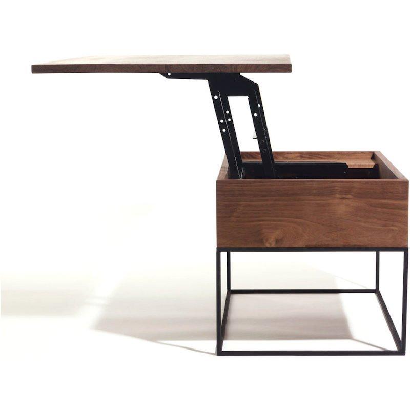 In hoogte verstelbare tafel bij Studio Perspective