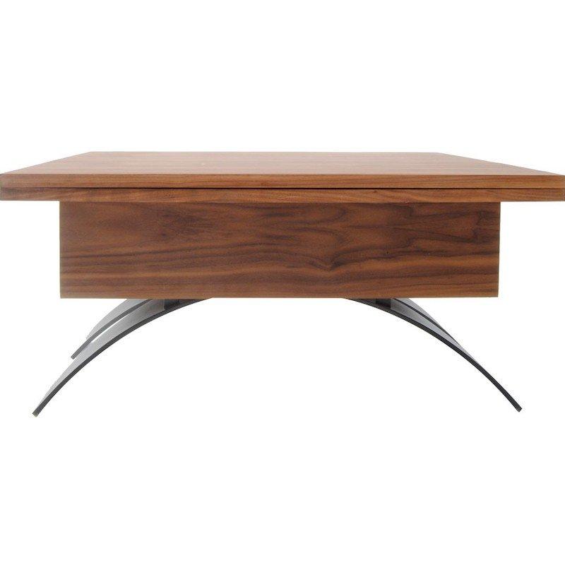TWO-O tafel sybold walnotenhout