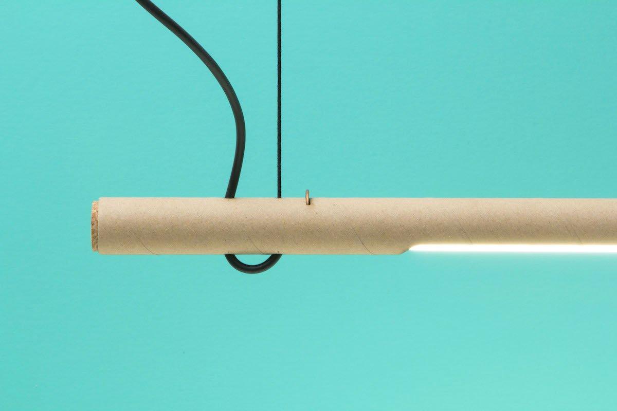 Waarmakers design lamp karton
