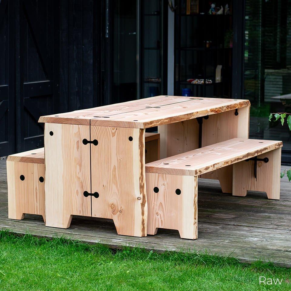 FORESTRY BENCH weltevree houten tuinbank duurzaam
