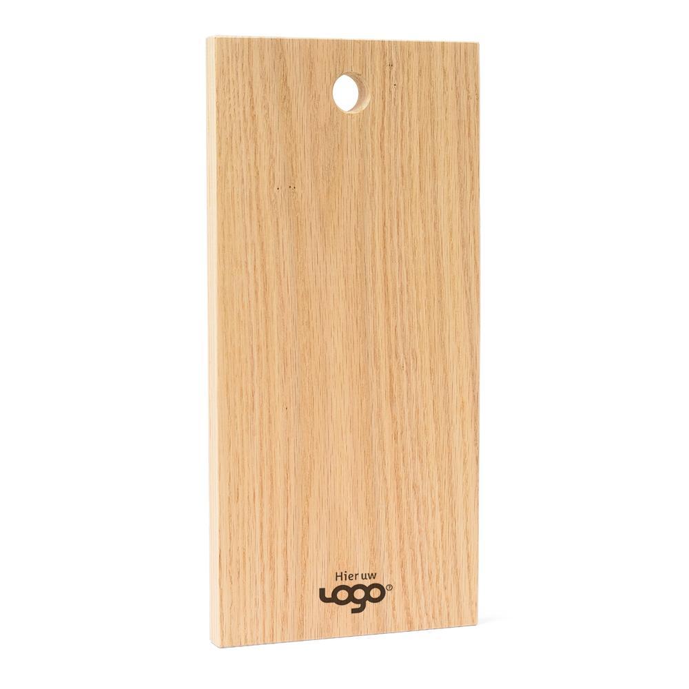 Binthout snijplank met logo eiken hollands hout