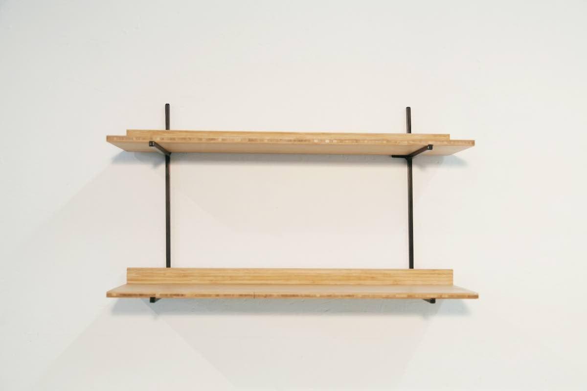 Mini-wandkast Mogelijkheid collectie. Studio Perspective, social design. Ontwerper Don Zweedijk werkt samen met metaalwerkplaats Het Maliegilde in Utrecht.