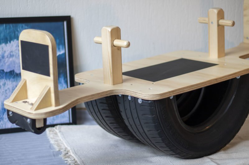 Re-Tire sociale onderneming upcycle oude autobanden Studio Perspective