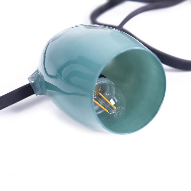 blauw lampje buitenverlichting van Weltevree