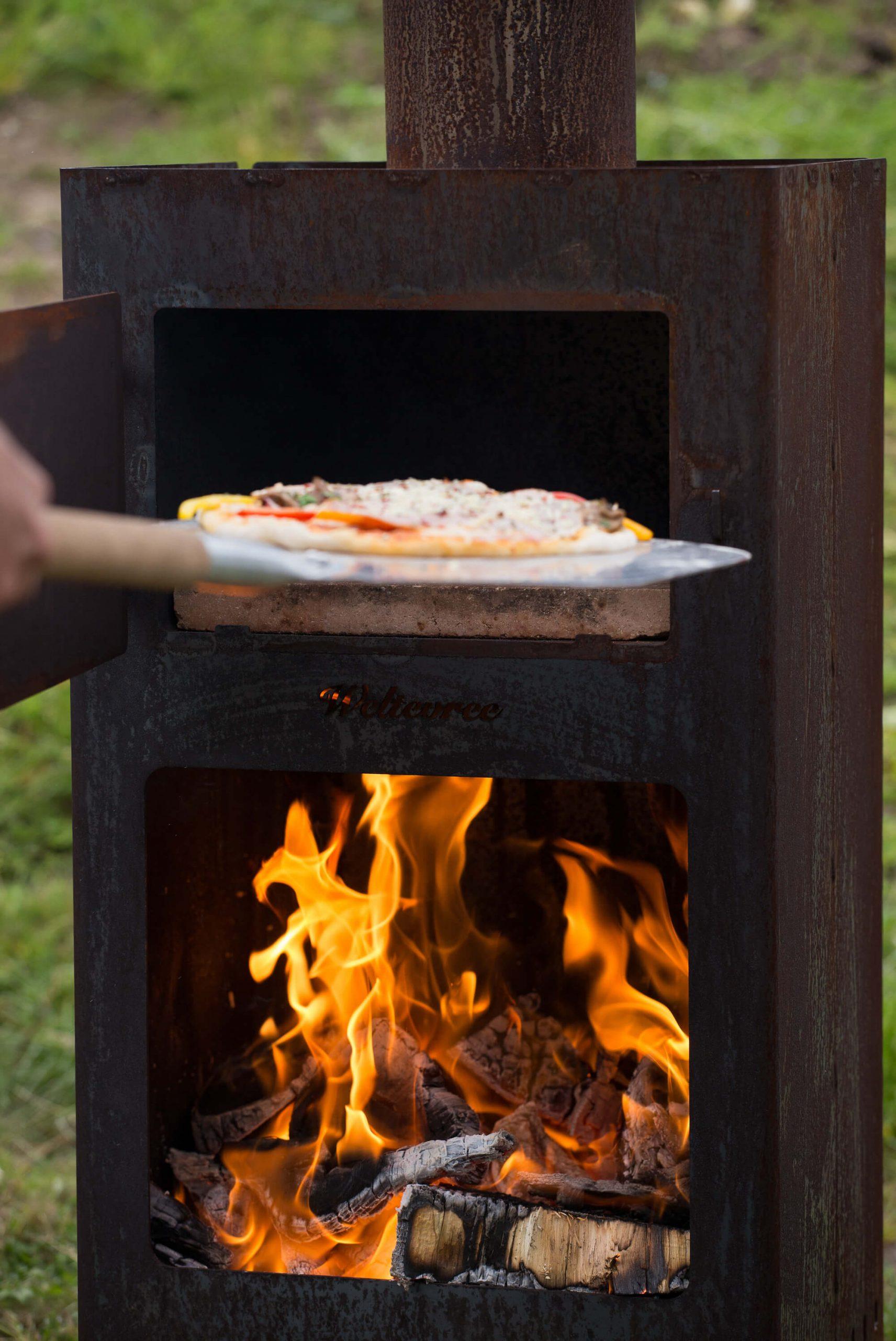 Pizza oven Weltevree