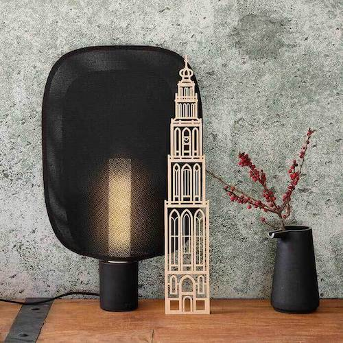 Sint-Jacobskerk Den Haag houten stadstoren Binthout