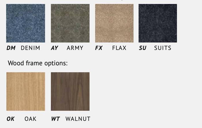 kleuren Planq stoelen