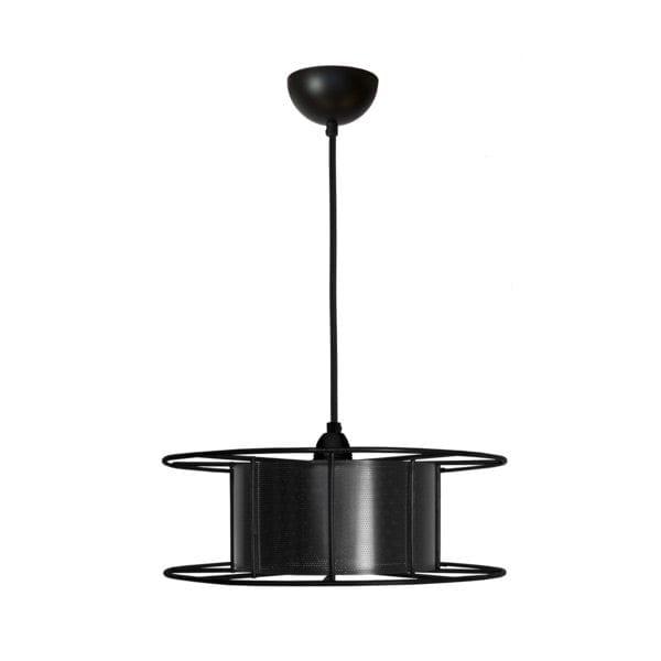 Spool Black van Tolhuijs Design is een zwarte, industriële hanglamp. Duurzame Design lamp, gemaakt van gerecycled materiaal.