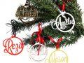De Naamkerstbal van CRE8 is een gepersonaliseerde kerstbal met naam en daarom een origineel cadeau.
