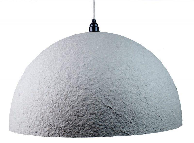 hanglamp van gerecycled papier