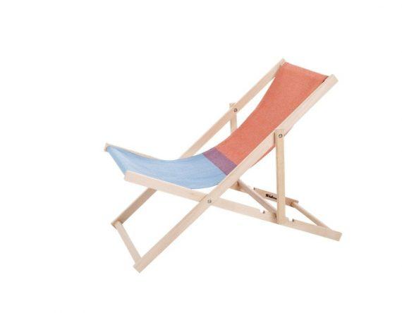 Beach Chair, strandstoel, ouderwetse strandstoel, iconische strandstoel, inklapbare strand of tuinstoel, stoffen tuinstoel, dutch design buiten meubelen, dutch design tuinstoel