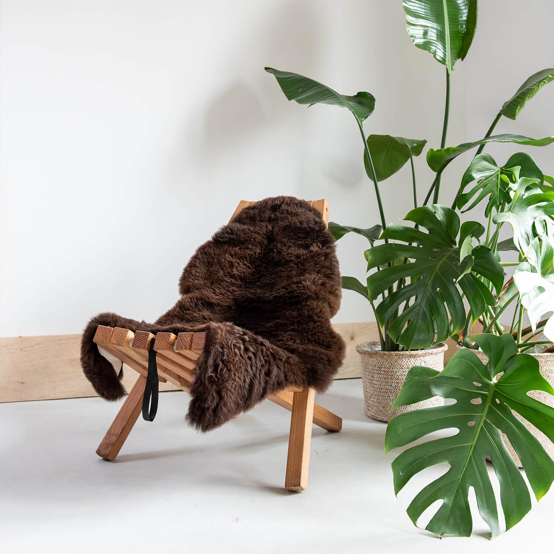 tuinstoel van duurzaam hout Fieldchair Weltevree bij Studio Perspective