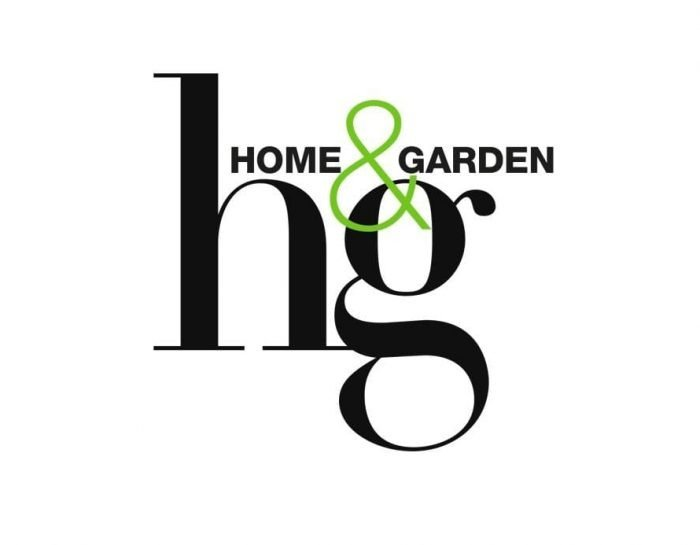 Home&Garden logo. Tijdschrift Home & Garden schrijft over Studio Perspective. Rescued staat in Home and Garden, verkoop via Studio Perspective.