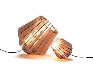 Mini-spot en Spot-nik Van Tjalle en Jasper duurzame Dutch design lampen bij Studio Perspective