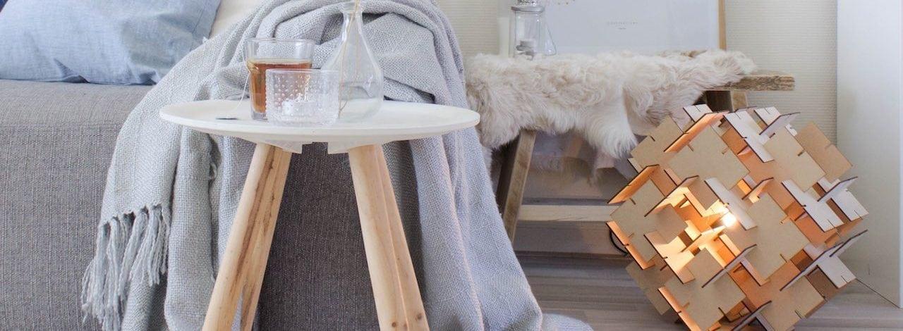 Duurzame vloerlamp Ties van CRE8. Studio Perspective verkoopt duurzame designverlichting.