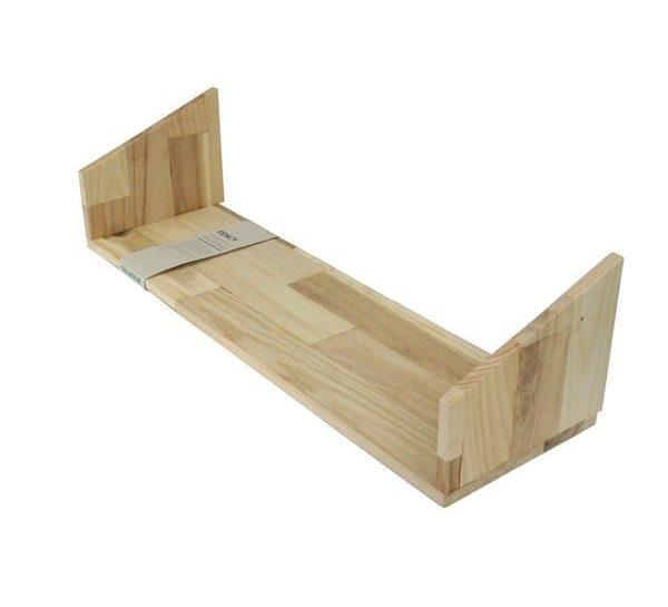 Fency Pallet Hout Triple van Tolhuijs Design is een houten plankje voor het duurzame en modulaire wandrek Fency.