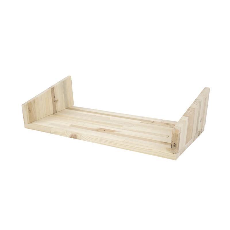 Fency pallet hout plankje dubbel voor wandrek Tolhuijs Design