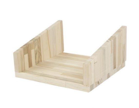 Fency pallet hout plankje voor wandrek Tolhuijs Design