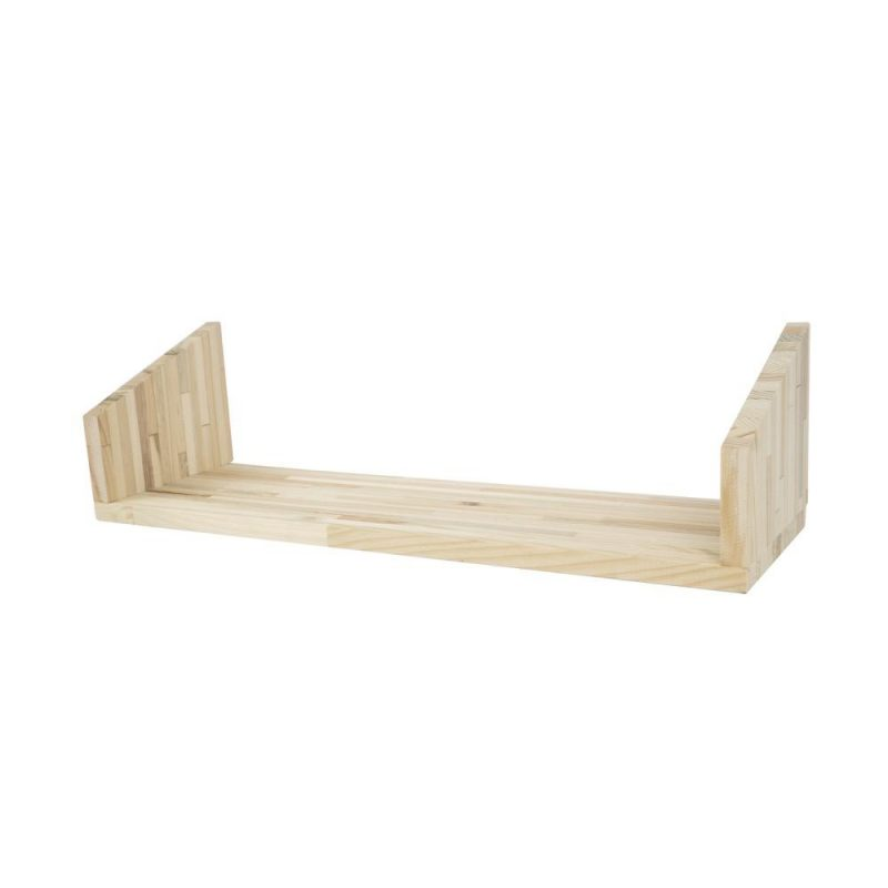 Fency wandrek houten plankje triple Tolhuijs Design