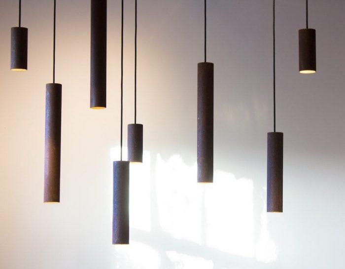 Karven designlamp uit Roest collectie by VanJoost