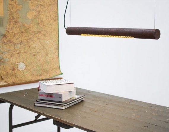 Roest Horizontal 75 hanglamp VanJoost bij Karven. Design hanglamp van Roest Studio Perspective