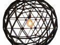 Bollelamp Binthout ø100 is een ronde houten lamp van duurzaam hout bij Studio Perspective.