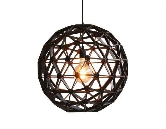 Bollelamp ø60cm is een handgemaakte lamp van Binthout. Een duurzame designlamp gemaakt van Stadshout bij Studio Perspective.