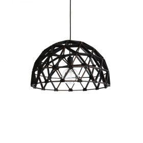 Koepellamp ø60cm is een ambachtelijke designlamp van Binthout. De hanglamp wordt gemaakt van duurzaam hout.