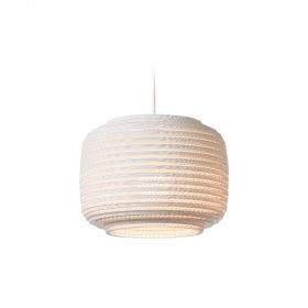 De Scraplight Ausi 12 White van Graypants is een witte hanglamp. Duurzame Design lamp bij Studio Perspective.