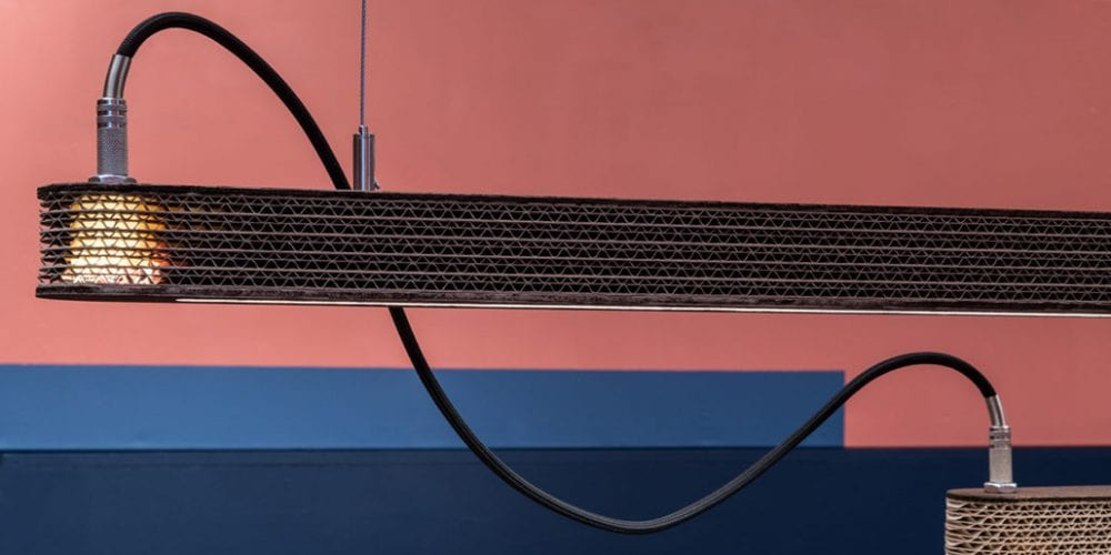 Led Pendant 900 van Wisse Trooster voor Cartoni Design Studio Perspective
