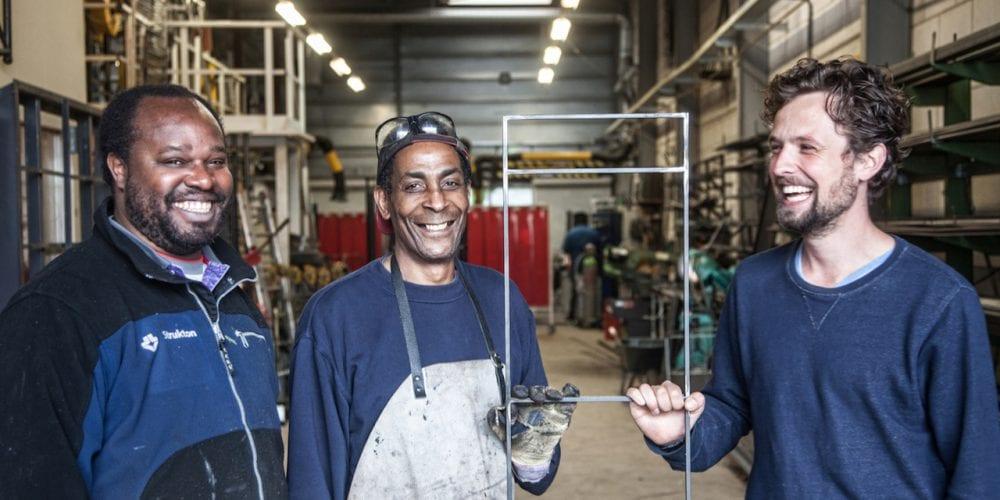 Nederlandse ontwerpers werken samen met sociale werkplaatsen