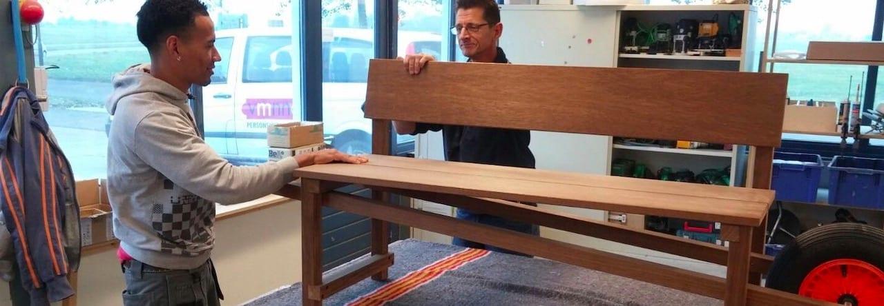 Weltevree duurzaam dutch design voor binnen en buiten gemaakt in de sociale werkplaats bij Studio Perspective.