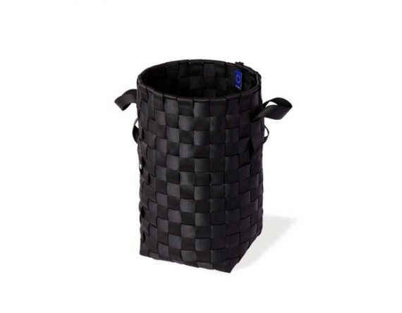 Duurzame grote wasmand zwart van Pack