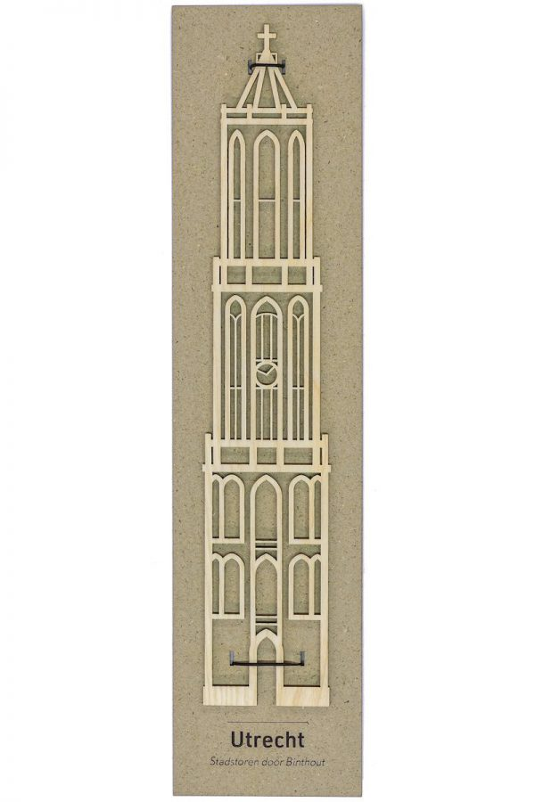 Binthout Domtoren Utrecht stadstoren van hout