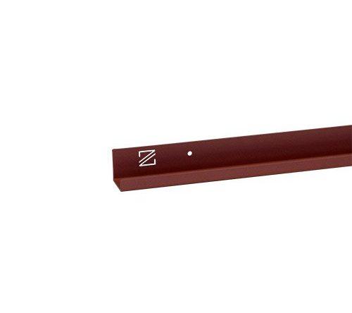 Duurzame plank voor fotolijstjes Guus rood van merk Zooi