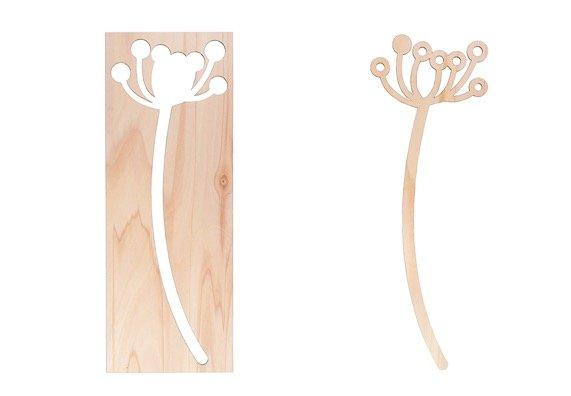 Houten bloemen van duurzaam hout