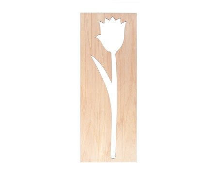 Tulp houten bloemen