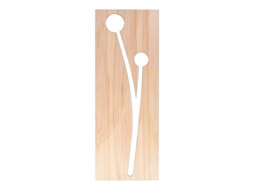 design woonaccessoires houten bloemen